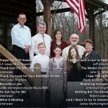 Thank Go For My Christian Home - Back Cover
