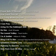 How Great Thou Art - Back Cover
